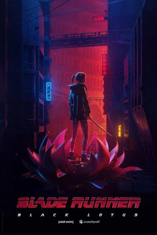 Just-revealed Blade Runner: Black Lotus key art