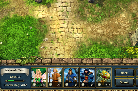 Whether the player character is level 2 or level 20, there are only five army slots to work with when bringing units into battle.