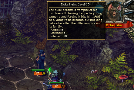 For whatever reason, the backstory of enemy heroes can only be seen through their tooltip after engaging them in battle but not before.