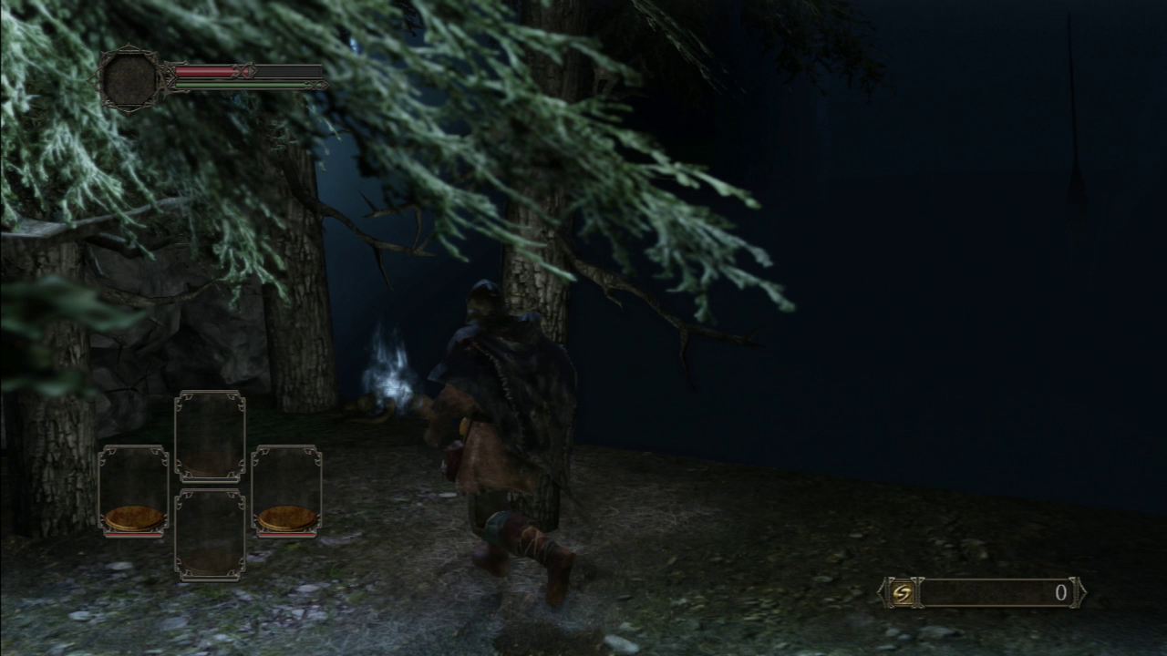 Your first pickup in Dark Souls II is right here.