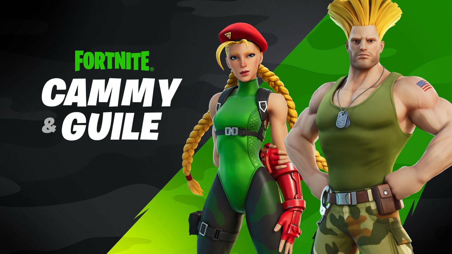 Street Fighter's Guile And Cammy Coming To Fortnite - GameSpot