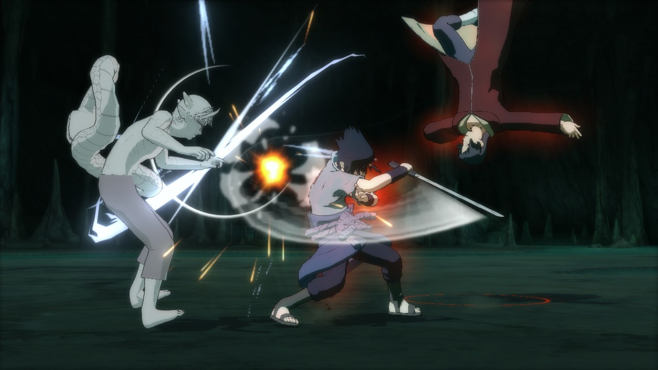 The Sasuke/Itachi vs. Sage Kabuto battle is the most difficult in the game.