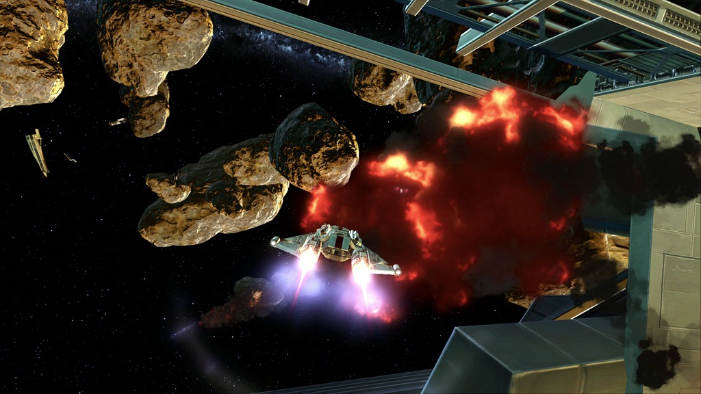 Space combat feels as good as it looks.