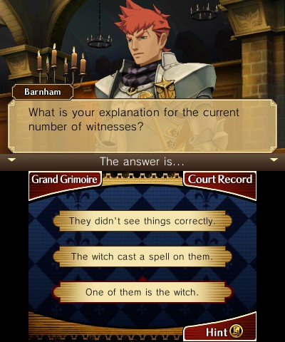 Inquisitor Barnham is one of the few secondary characters of genuine interest, predominantly because of his role in Phoenix's sequences.