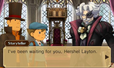 The storyteller holds the key to many of Labyrinthia's mysteries.