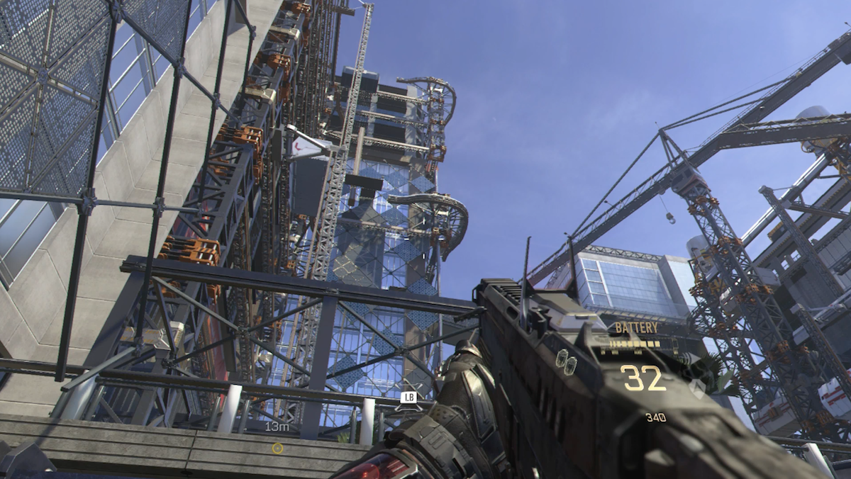 This Call of Duty aptly embraces vertical movement.