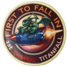 The First to Fall patch is a Walmart exclusive.