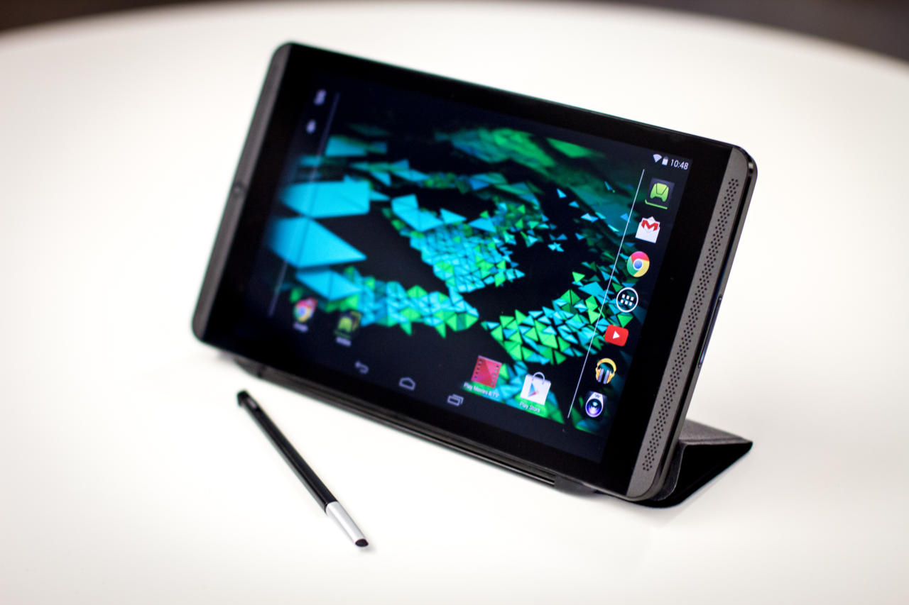 Nvidia is branching out from GPUs with products like the Shield Tablet.