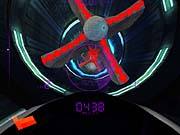 At supersonic speed, a Ballistics pilot enters a kaleidoscopic world of bizarre shapes and colors.