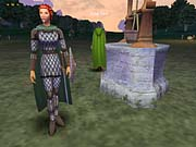 Hibernia is home to elves and other magical races.