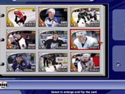 New features, like the NHL trading cards, are plentiful in NHL 2002.