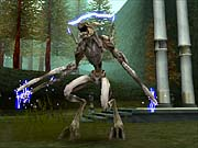 A host of demons will attack Raziel throughout his quest...