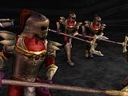 Sarafan warriors in formation.