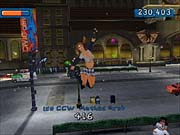 The characters and levels in Aggressive Inline are quite colorful.