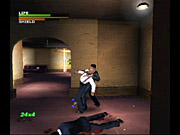 The difficulty of Dead to Rights has been toned down for the PS2 and GameCube versions.