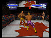 Legends of Wrestling II lets you play as some of the greatest wrestlers of the 1970s and 1980s.