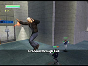 All combos are simple three-button-press punch, kick, and guard maneuvers, with some slight variation if you hold the final button instead of tapping. What's worse is that executing a combo does only a slight amount of extra damage.