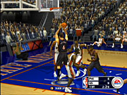 NBA Live 2003's gameplay resembles that of the 16-bit Live games.