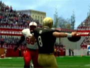 You can run all of the classic college plays and formations such as the power-I.