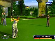 The GameCube version of Outlaw Golf looks similar to its Xbox counterpart.