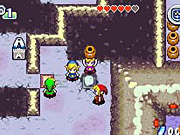 A Link to the Past matches the SNES-quality graphics of the original.