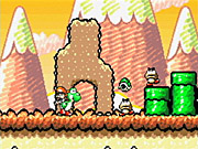 Anyone would have a great time with Yoshi's Island.