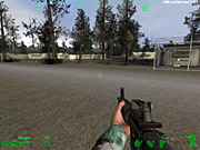 America's Army is unusually detailed, from the guns to the graphics.