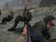 The Omaha Beach landing is just one of the game's memorable scenes.