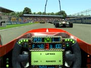 Grand Prix 4 lets you race for any of 11 Formula 1 teams.
