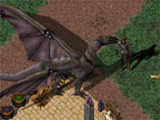 Ultima Online has been around for years, and it shows.