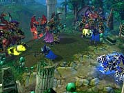Warcraft III's story is exciting and memorable.