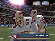 Madden 2003 looks great whether you're up close...
