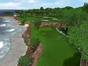 Tiger 2003's Pebble Beach course features roaring surf and glorious scenery.