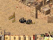 Arabian mercenaries bring combat into play sooner.