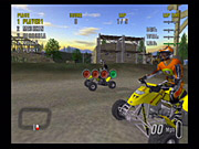 ATV Offroad Fury 2 features an extensive, expensive-sounding licensed soundtrack.