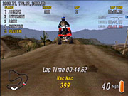You'll have to perfect your trick scores in order to really shine in ATV Offroad Fury 2.