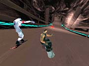 Evolution Snowboarding is more about combat than actual snowboarding.