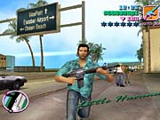 Tommy Vercetti's voice is provided by Ray Liotta, who does a great job of bringing the character to life.