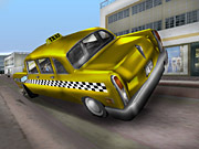 With some fancy driving, you'll be able to pop cars over on two wheels in Vice City.