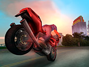 Slam the motorcycle's brakes too hard, and you'll be eating an asphalt sandwich.