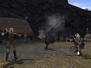 Legolas is best suited for attacking his enemies from a distance.