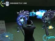 Men in Black II features plenty of action, nonstop.