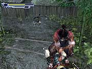 There's plenty of hack-and-slash action to be found throughout the game.