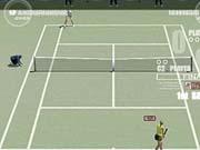 Kournikova faces off against Hingis.