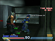 You'll race against the clock in Tekken Force mode, a fast-paced beat-'em-up minigame.