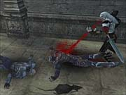 Feasting on the blood of the slain will allow you to stay alive.