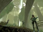 Like Halo, you can expect to see lots of massive environments and gorgeous lighting effects in Brute Force.
