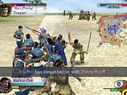The battles in Dynasty Warriors 3 can be incredibly crowded and chaotic.