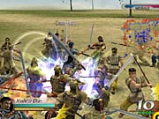 Your character's musou attack is essential for fighting hordes of enemies.