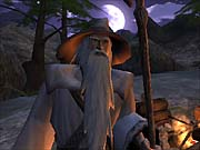 As Gandalf, you'll travel across many of Middle-earth's memorable locations like the Shire and the mines of Moria.